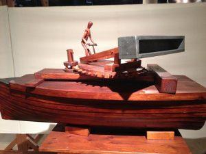 Leonardo da Vinci Ship with Rotator (click to view larger)